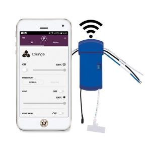 TriAire Custom - FanSync WiFi Receiver - 2.52 Inches Wide by 1.22 Inches High