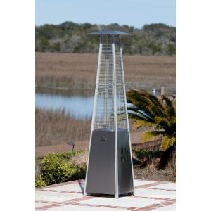 Pyramid Flame Heater