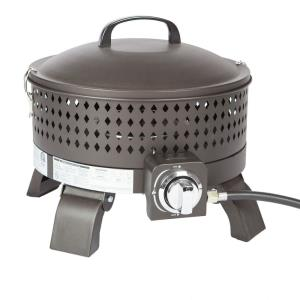 "Sporty Campfire - 19"" Portable Gas Fire Pit"
