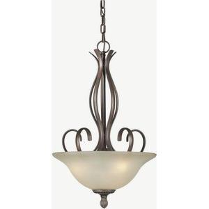 Three Light Bowl Pendant