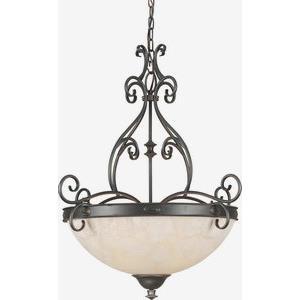Four Light Bowl Pendant