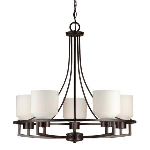 "25.75"" Five Light Chandelier"