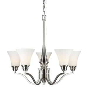 "27"" Five Light Chandelier"