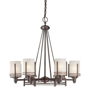 "31"" Six Light Chandelier"