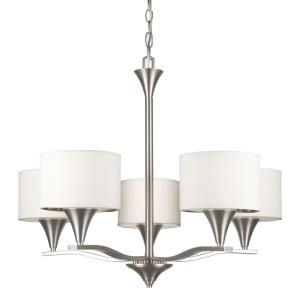 "28"" Five Light Chandelier"