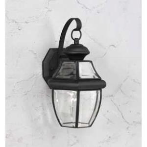 1 Light Solid Brass Outdoor Lantern