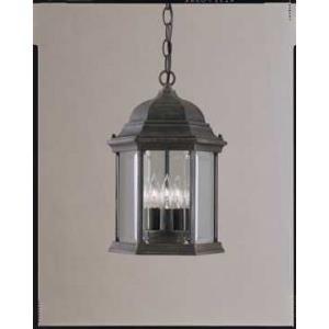 3 Light Cast Aluminum Outdoor Hanging