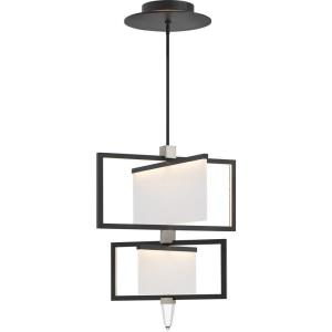 "Folio - 29.25"" 66W 1 LED 2-Tier Chandelier"