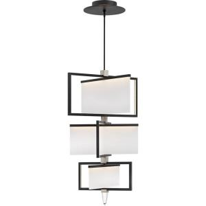 "Folio - 44.5"" 108W 1 LED 3-Tier Chandelier"