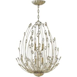 Tulah - Four Light 2-Tier Chandelier