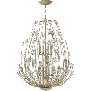 Tulah - Eight Light 2-Tier Chandelier