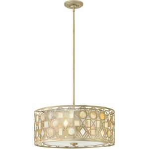 Isla - Three Light Stem Hung Chandelier