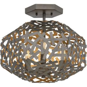 Kestrel - Three Light Semi-Flush Mount