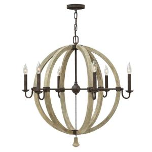 Middlefield - Six Light Sphere Chandelier