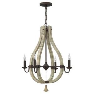 Middlefield - Four Light Chandelier