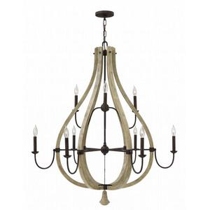 Middlefield - Nine Light 2-Tier Chandelier
