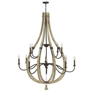 Middlefield - Twelve Light 2-Tier Chandelier