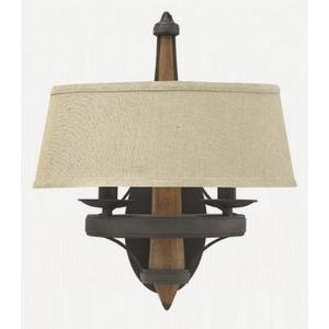 Bastille - Two Light Wall Sconce