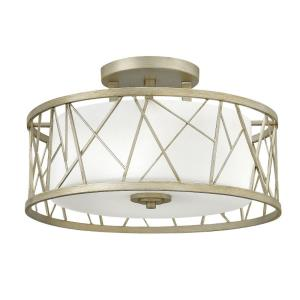 Nest - Three Light Semi-Flush Mount