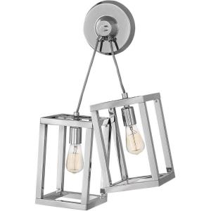 Ensemble-Two Light Wall Sconce-17.5 Inches Wide by 25.5 Inches Tall