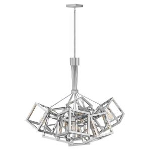 Ensemble-Nine Light Stem Hung Chandelier-30.75 Inches Wide by 36.75 Inches Tall