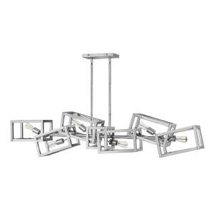 Ensemble - Six Light Stem Hung Linear Chandelier