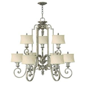 Kingsley - Two Tier, Nine Light Chandelier