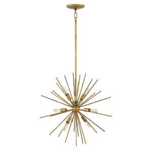 Tryst - Eight Light Stem Hung Pendant
