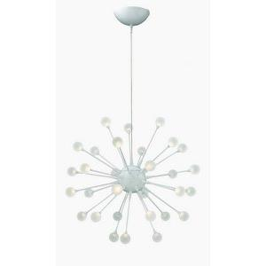 "Impulse - 24"" Small LED Chandelier"