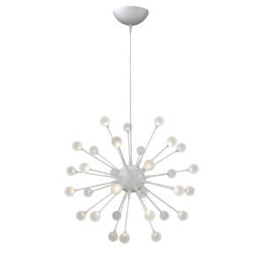 Impulse - 24 Inch 45W 30 LED Small Chandelier