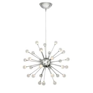 Impulse-45W 30 LED Small Chandelier-24 Inches Wide by 24 Inches Tall