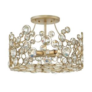 Anya - Four Light Semi-Flush Mount