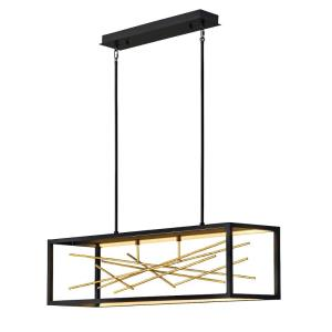 Styx  13 55W Integrated LED Linear Chandelier