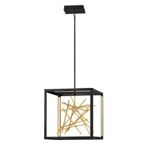Harmony - 56.5 Inch 45W 45 LED Linear Oval Pendant