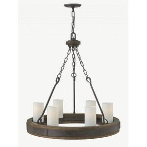 "Cabot - 28"" Six Light Chandelier"