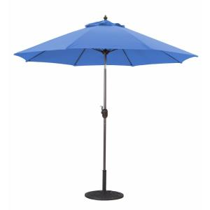 9' Manual Tilt Octagonal Aluminum Umbrella