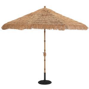 9' Driftwood Auto Tilt Octagonal Umbrella