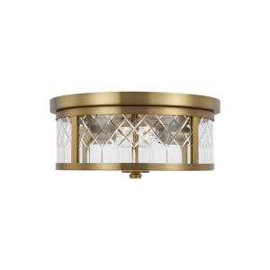 Alec - Two Light Flush Mount
