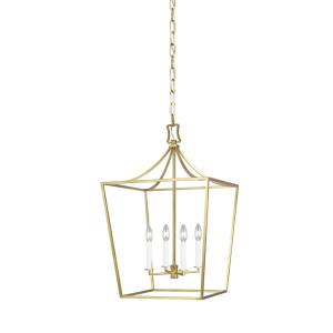 Southold by Chapman & Myers-Four Light Chandelier-18 Inches Wide by 27.63 Inches Tall