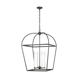 Stonington-Four Light Chandelier-24.63 Inches Wide by 37.25 Inches Tall