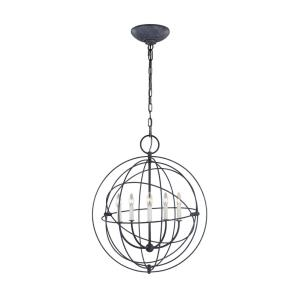 Bayberry-5 Light Medium Pendant in Traditional Style-24 Inches Wide by 28.63 Inches Tall