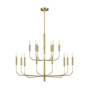 Brianna-15 Light Large 2-Tier Chandelier-48.75 Inches Wide by 37.5 Inches Tall
