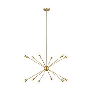 Ellen Collection-Jax-Twelve Light Chandelier-38 Inches Wide by 23 Inches Tall