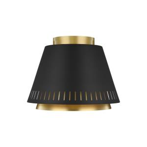 Ellen Collection-Carter-One Light Flush Mount-11 Inches Wide by 8.38 Inches Tall