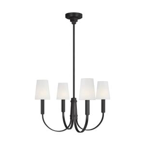Logan from TOB Thomas O'Brien-Four Light Chandelier-26.25 Inches Wide by 16.88 Inches Tall