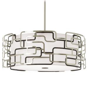 "Alecia'S Tiers - 25"" 75W 3 LED Pendant"