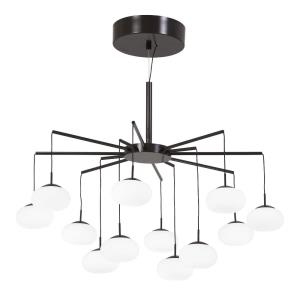 George'S Web - 25.5 Inch 40W 1 LED Convertible Chandelier