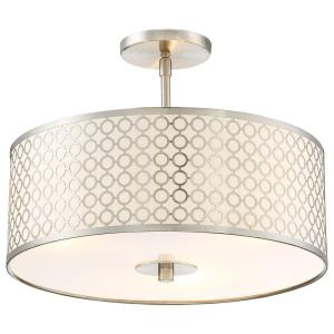 Dots - Three Light Semi-Flush Mount