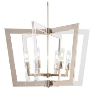 Crystal Chrome - Six Light Pendant