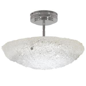 Forest Ice - 16 Inch 30W 1 LED Convertible Pendant